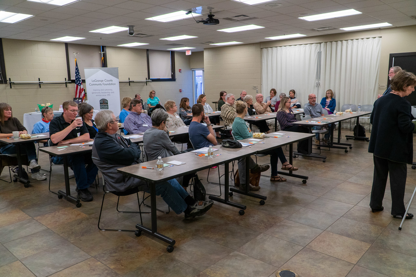 Oct. 8, 2019 Envision Community Conversation at the LaGrange County Public Library